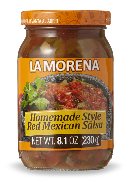 La Morena_homemade style red mexican salsa.jpg
